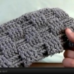 Howto Crochet Tutorail, Front and Back Posts for Basket Weaving