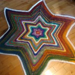 Bernat Mosaic Yarn Christmas Tree Skirt
