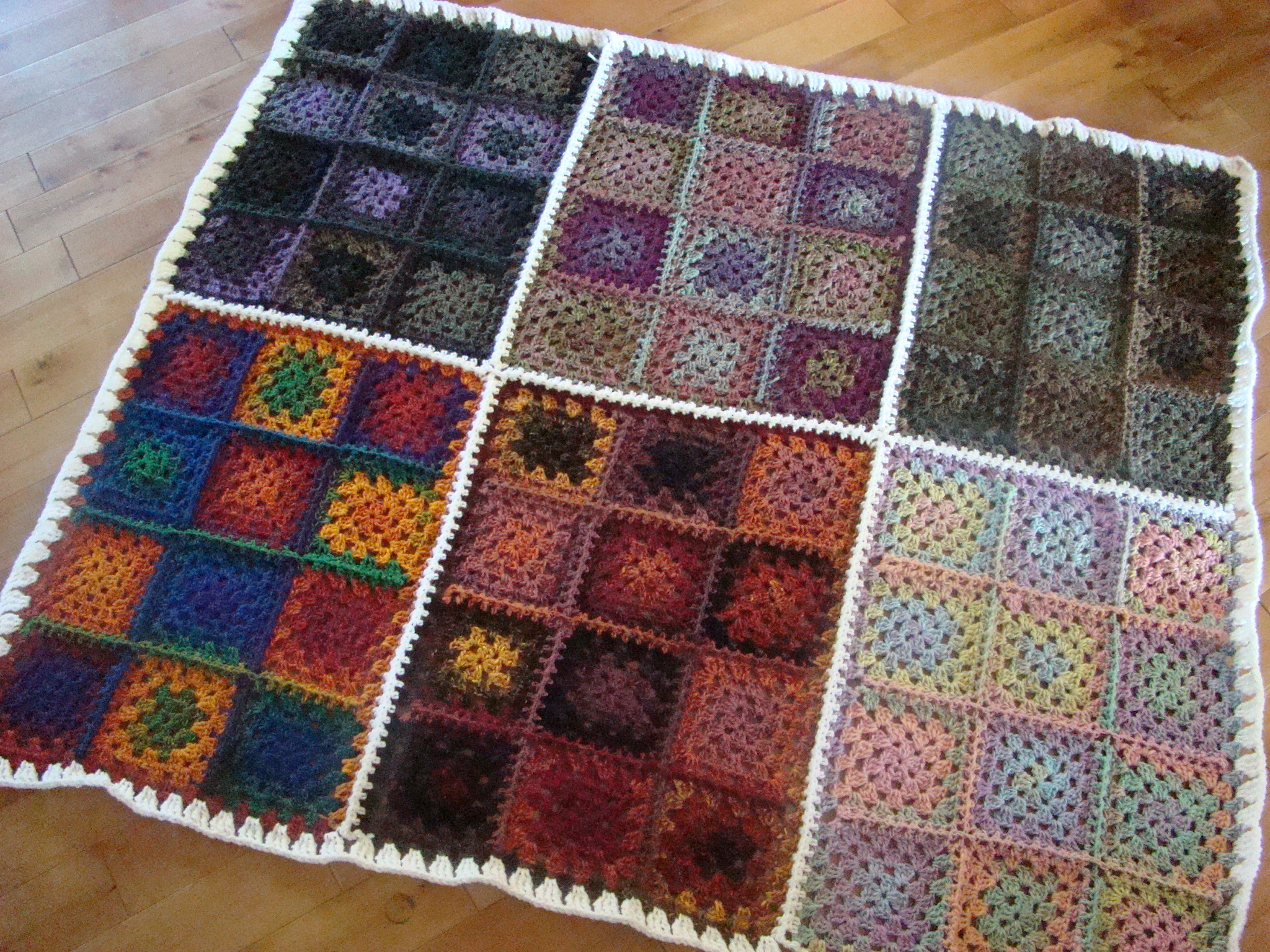 Bernat Mosaic Afghan Kits Exclusively By The Crochet Crowd Favecrafts