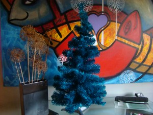 Michael Sellick and Daniel Zondervan's Blue Christmas Tree