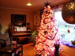 Michael Sellick & Daniel Zondervan's Pink Christmas Tree