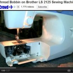 How To Thread Bobbin on Brother LS 2125 Sewing Machine