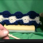 Learn how to crochet the Catherine Wheel Stitch
