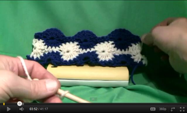 Catherine Wheel Crochet Pattern