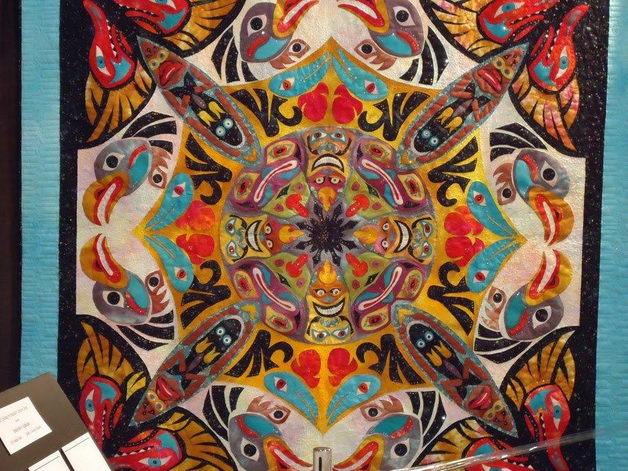 Aztec Quilt Award Winning Quilts at Quilt Market