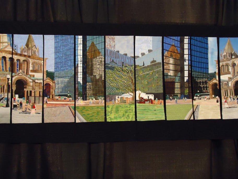 Filmstrip City Quilt Award Winning Quilts at Quilt Market