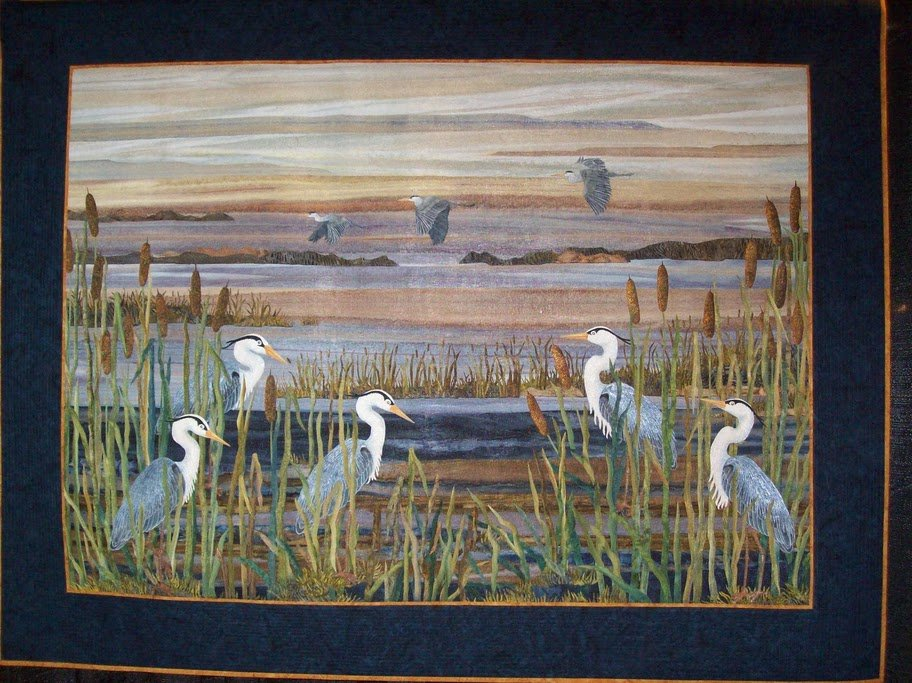 Great Blue Herons Joann Baeth