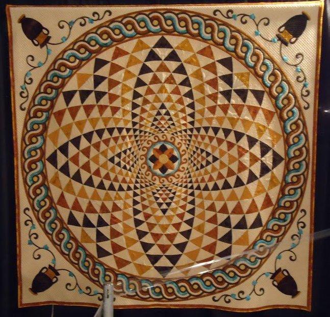 Greek Pottery Quilt Award Winning Quilts at Quilt Market