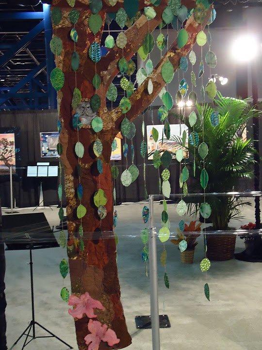 Tree quilt Award Winning Quilts at Quilt Market