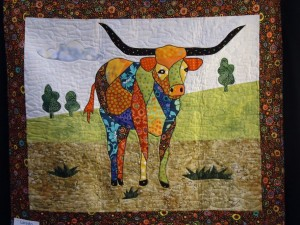 Steer Mosaic Quilt from B.J. Designs and Patterns