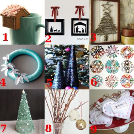 linklove 120811 Link Love: Classy Christmas Crafts