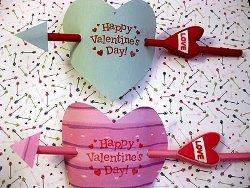 Cupids Arrow Valentines Kids Valentine Gifts and Crafts
