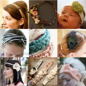 Link Love Headbands1 300x300 Link Love:  DIY Headbands