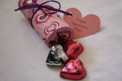 Valentine Candy Poppers Kids Valentine Gifts and Crafts