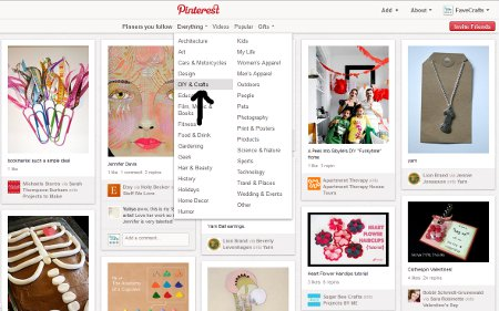 pinterest category Pinning Down Pinterest