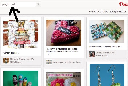 pinterest search bar Pinning Down Pinterest