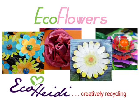 EcoHeidi Borchers - EcoHeidi TV - EcoFlowers - Cool2Craft