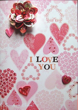 3D Flower Card February Blog Hop Winner