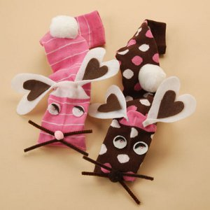 Bunny Sock Puppets Love is in the Air! The Ultimate Valentines Day Crafting Guide