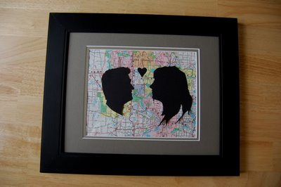 Custom Couple Silhouette 6 Thrifty and Cheap Valentines Day Crafts