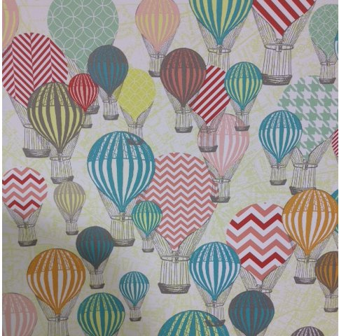 alfa img   showing gt vintage hot air balloon fabric