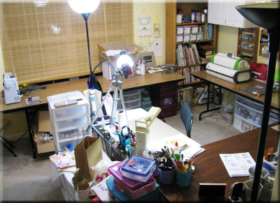 Marti 1 Craft Room Tour: Marti Wills from Pezadoodle Designs