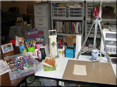 Marti 13 Craft Room Tour: Marti Wills from Pezadoodle Designs