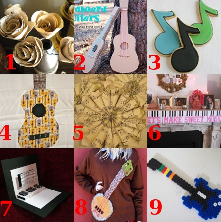 linklove 020912 Link Love: Music Crafts for the Grammys