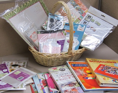 papercraft gift basket 2 February Blog Hop Winner