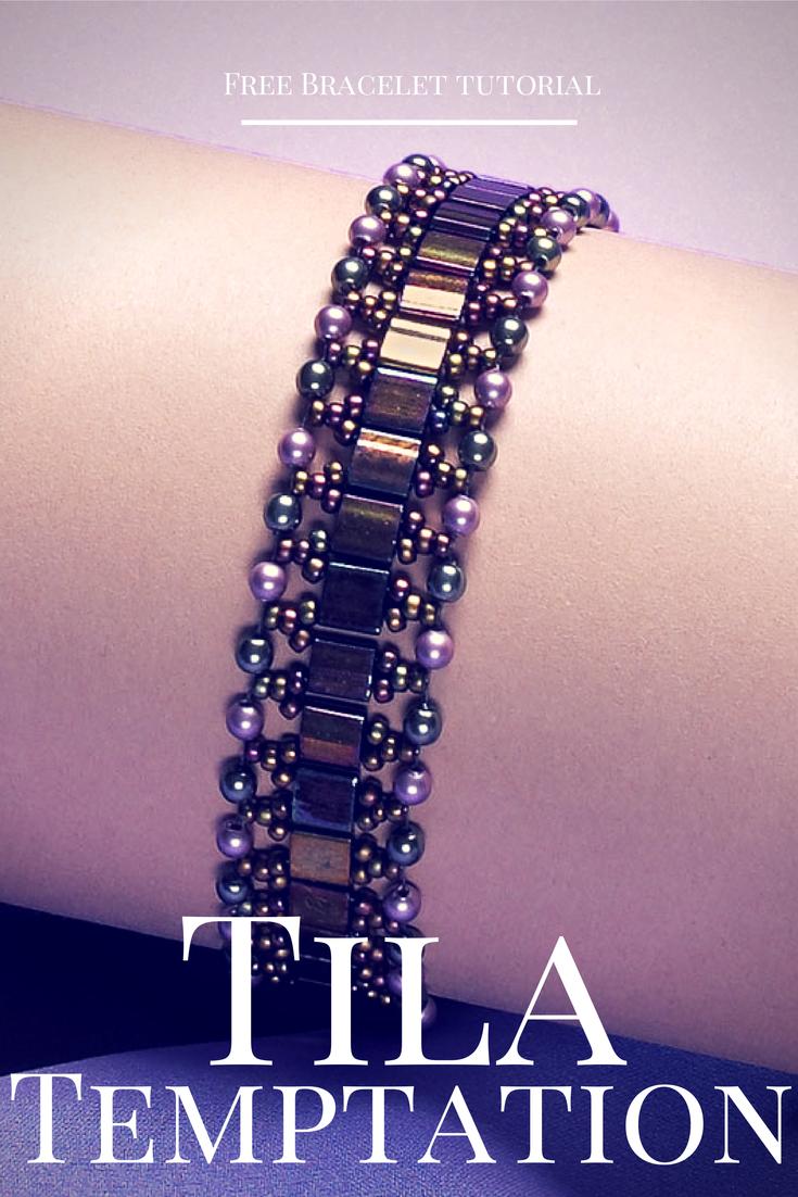 Project Of The Day: Tila Temptation Bracelet