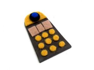 Dalek Brooch Tutorial 06 300x225 Geek Crafts: Mini Dalek Brooch Tutorial