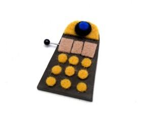 Dalek Brooch Tutorial 07 300x225 Geek Crafts: Mini Dalek Brooch Tutorial