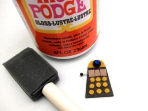 Dalek Brooch Tutorial 08 300x225 Geek Crafts: Mini Dalek Brooch Tutorial
