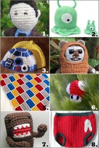 Geek Amigurumi 200x300 Geek Crafts: 8 Awesomely Geek tastic Crochet Projects