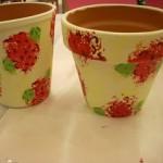 Geranium-Painted-Garden-Pots