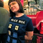 Haley in TARDIS Dress