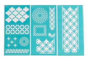 arabesquestencils 300x198 Project of the Day and Giveaway: Martha Stewart Arabesque Home Accents