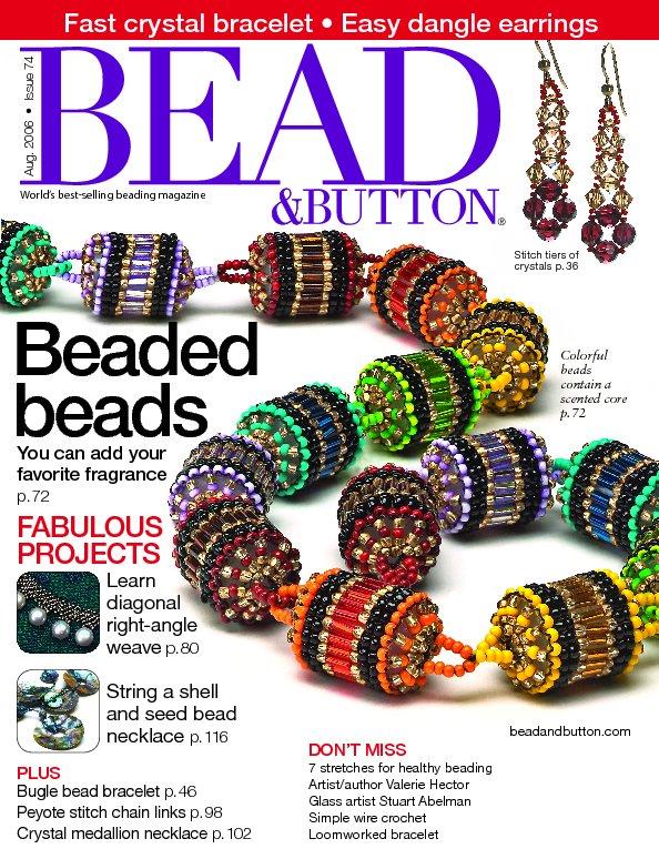 bead button Project of the Day: Tila Temptation Bracelet