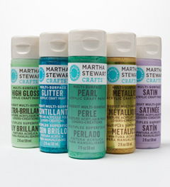 paint assortment3 Project of the Day and Giveaway: Martha Stewart Arabesque Home Accents