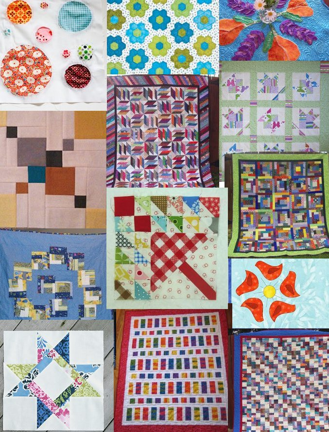 March Patterns1 March into Spring with the Top 14 Quilts from Last Month