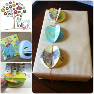 Sewing Loft 1 Eco Gift Wrap from Childrens Books