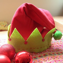elfhat1 Give the Gift of Holiday Wearables with New eBook from AllFreeChristmasCrafts