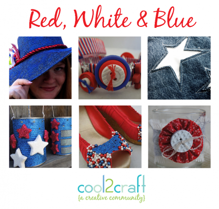 Hooray for the Red, White & Blue - Cool2Craft TV