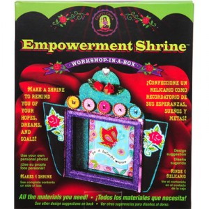 Empowerment Shrine Kit from Crafty Chica