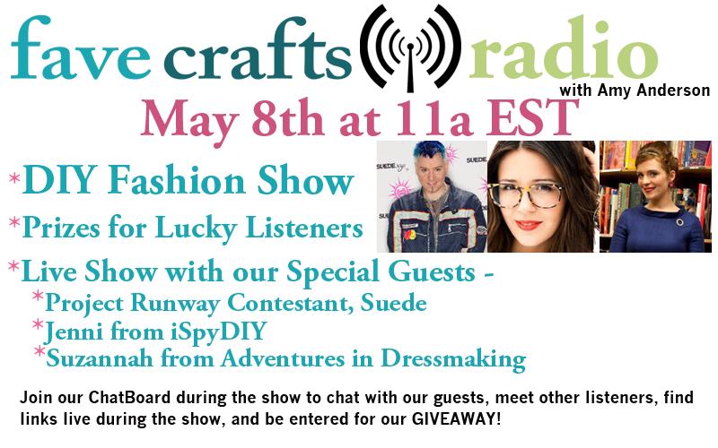 FaveCrafts Radio Show