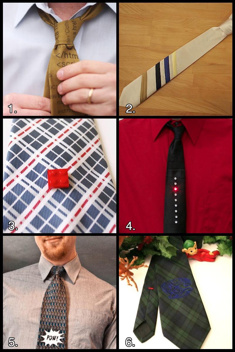 1 Howtuesday: Diy Geek Power Tie