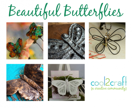 Beautiful Butterflies - Cool2Craft TV