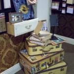 7 Gypsies Suitcase Display