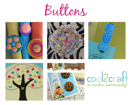 Cool2Craft TV - Button Crafts