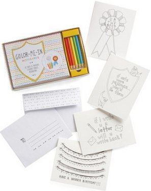 Color-Me-In Notecards Set